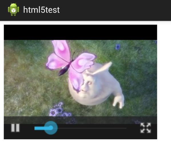 Play HTML5 fullscreen Video on Android WebView | Shashika's